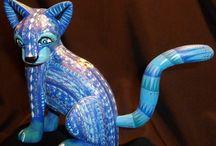 Oaxacan Wood Sculptures / by Kimberly Wheeler