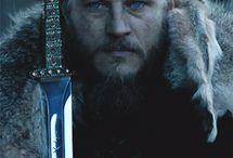 Vikingowie-zdiecia z serialu. .