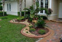 Jardines/ decoración de patios