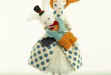 クラフト人形