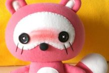 Sewing (soft toys)  / Patterns/tutorials for soft toys/plushies/kitch cuties