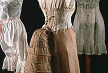 1870 - 1890 Unmentionables / by Costume Diaries
