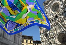 "SOS BATTISTERO / Emilio Pucci and YOOX.COM are pleased to introduce you ""SOS Battistero"", the limited edition scarf to support the restoration of the stunning Battistero in Florence.  Shop now: http://goo.gl/Q416j9 / by Emilio Pucci"
