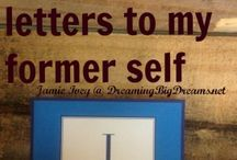 31 days of letters to my former self