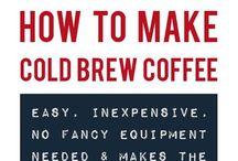 recepty kávové drinky