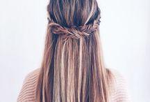 Hair, hairstyles