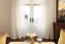 Sara H / Layered sheers/drapes