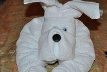 skládání ručníků