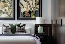 Bedroom Property Styling Inspiration / Cushions galore or is less more? These posts dissect bedroom property styling strategies for you to apply at home.