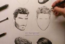волосы и причёски
