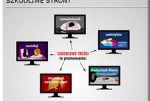 Bezpieczny Internet / Zagrożenia w sieci - materiały, portale i serwisy