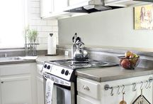 Tiny Kitchen Makeover / by Heather Zink
