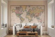 Vintage Wall Mural Wallpaper Ideas