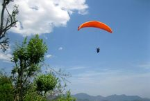 Mussoori Paragliding / #templepilots #paragliding begins #tandem #festival at the Queen of Hill Stations in the North of #India...#mussoorie near #dehradun and #delhi.