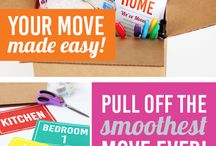 Keeping Organized / From moving to everyday household sanity,   some organizing ideas.