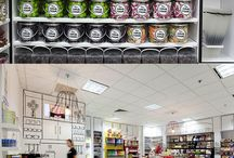 Store/Loja - decor and ideas / Inspirations for comercial projects, fashion and design stores in the most