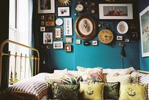 Bedrooms / Victorian home. Interiors