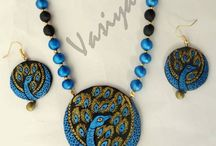 Vasiya Creations handmade Terracotta Jewel / Vasiya Creations handmade Terracotta Jewel