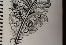 Zentangle / by Angela Sargeant - Independent Stampin' Up!® Demonstrator