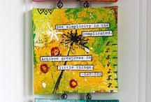 Crafts - Canvas / by Teresa Pannell