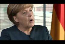 """Video Deutsche Kanzlerin Merkel : """"Neue Projekte mit Frankreich France"""""""