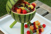 Summer/Fruit trays