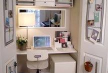 Cupboard desks