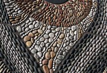 pebble moasics