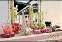 Candy Bar / La opción más dulce para las Bodas! Si quieres una boda original y divertida, no puede faltar en tu Boda! ;)