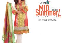 ZEEN Mid Summer Collection 2015 / - All articles are ready to wear. - 1 piece & 2 piece. - Starting from Rs 2,895/-  Shop Now: http://goo.gl/2BqdPo