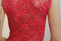 crochês lindos / Vestidos de crochê