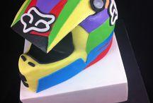 helmet cakes