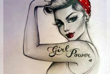 Pin- Up Girl