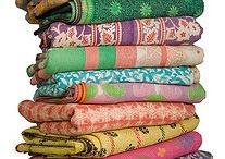 Vinatage sari quilts / by Nancy Aebersold