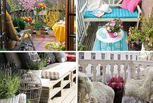 Balcony decoration - Decoração para varandas / Balcony decoration Ideas - Ideias para decoração de varandas
