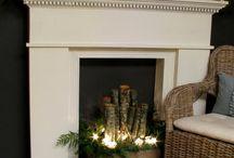 Unused fireplaces