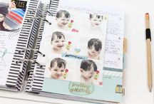 Planner's / Fun ideas to use with your planner. Ideas using sticker's, journaling, photos, embellishments, storage and more...