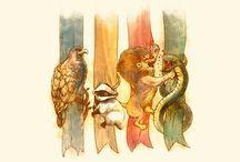 50 Points to Slytherin House!  / Harry Potter  / by Tori Wyett