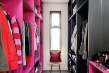 Closets X suítes ..