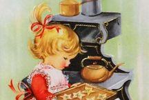 Vintage cards