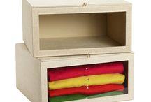 Closet Solutions / Organize your closet today with beautiful closet storage ideas and beautiful closet decor.