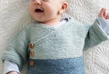 Baby clothes knitted