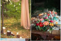Boho Wedding ideas / Beautiful Boho wedding ideas and inspiration.