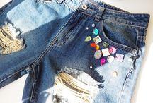 JEANSY / handmade jeansy. Nájdeš na: http://www.ohh.sk/