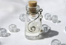 wire wrapped bottles