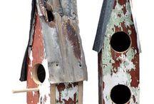 Jack's birdhouses / by Megan Knight Shroyer