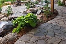 Garden, outside decoration and ideas