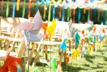 Colorful and playful weddings