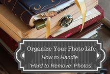 Photo organizing & decorating tips