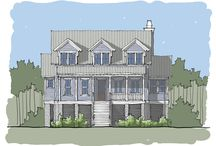 Bakers Bay Home Plan / Coastal Cottage Home Plan